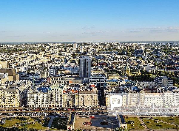 Jerozolimskie Avenue  Stadtzentrum  Warschau  Woiwodschaft Masowien  Polen  Europa