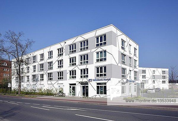 Studentenwohnheim Campus Living im Science Quarter Sci:Q  Hochschule Hamm-Lippstadt  Hamm  Ruhrgebiet  Nordrhein-Westfalen  Deutschland  Europa