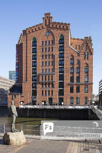 Internationales Maritimes Museum  Speicherstadt  HafenCity  Hamburg  Deutschland  Europa