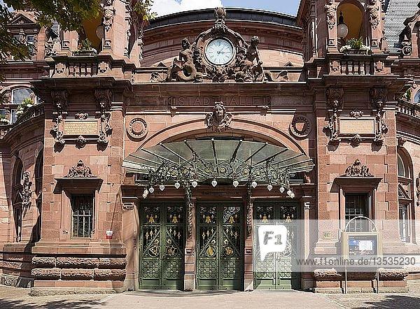 Stadthalle  Kongresshaus  Heidelberg  Baden-Württemberg  Deutschland  Europa