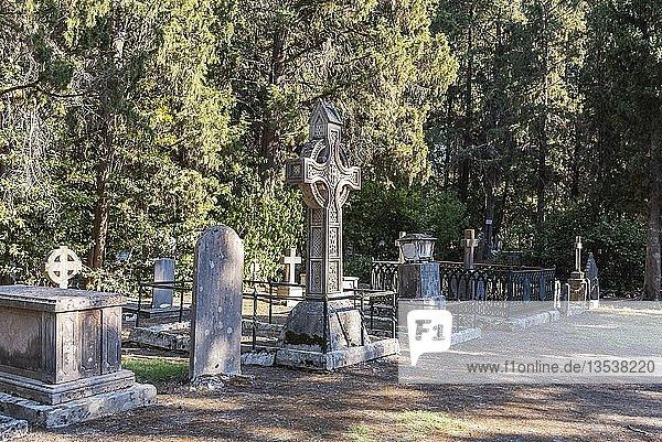 Grabstätten  britischer Friedhof  Kerkyra  Insel Korfu  Ionische Inseln  Griechenland  Europa
