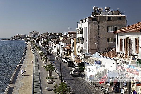 Foinikoudes-Promenade  Larnaka  Südzypern  Zypern  Larnaka  Südzypern  Zypern  Europa