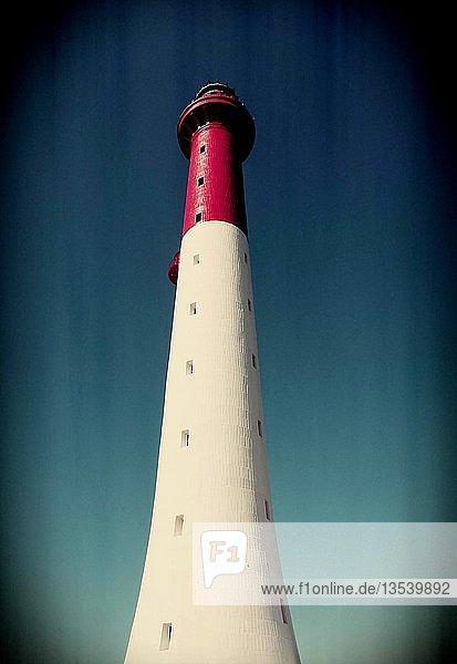 Leuchtturm von La Coubre (phare de la Coubre)  La Tremblade  Charente Maritime  Nouvelle-Aquitaine  Frankreich  Europa
