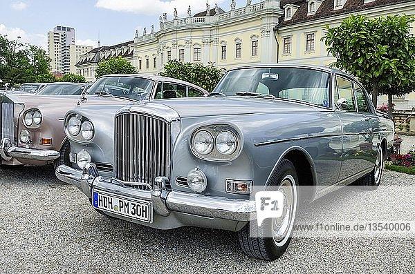 'Bentley S3 Continental ''Chinese Headlamps''  ab Baujahr 1963  Oldtimertreffen Classics meets Barock  Schloss Ludwigsburg  Regierungsbezirk Stuttgart  Baden-Württemberg  Deutschland  Europa'