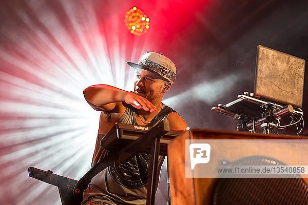 The British band Rudimental live at the 26th Heitere Open Air in Zofingen  Aargau  Switzerland  Europe