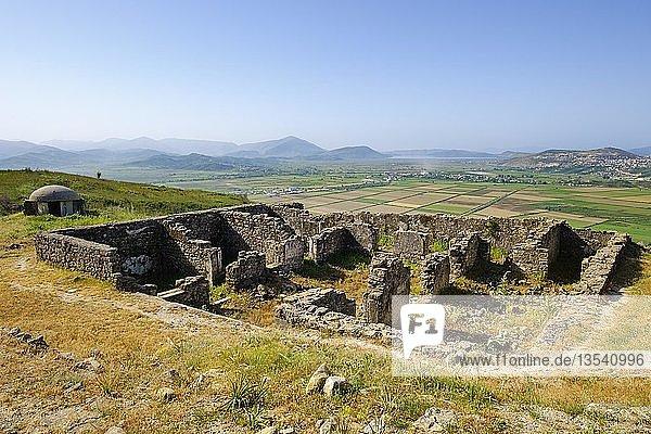 Ruinen  antike Stadt Phoinike  Foinike  Finiq bei Saranda  Qark Vlora  Albanien  Europa