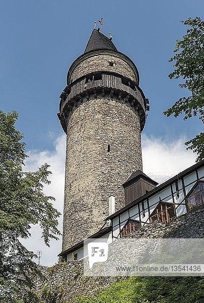 Truba Schlossturm  Stramberk  Tschechien  Europa