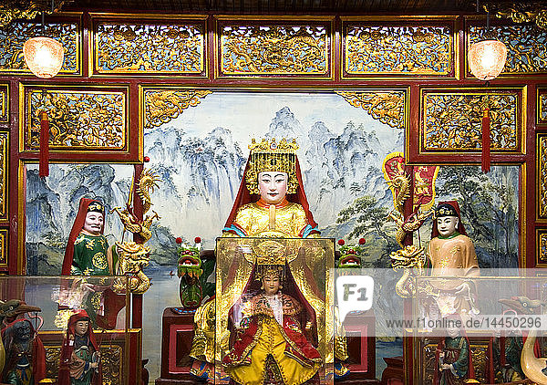Cantonese Temple  Asia