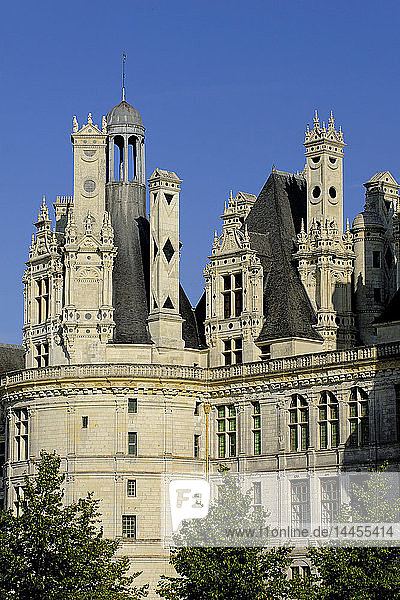 Europe  France  Centre-Val of the Loire  Loir-et-Cher ( 41 )  Loire valley  classified in the UNESCO world heritage  National Domain of the Castle of Chambord  Castle