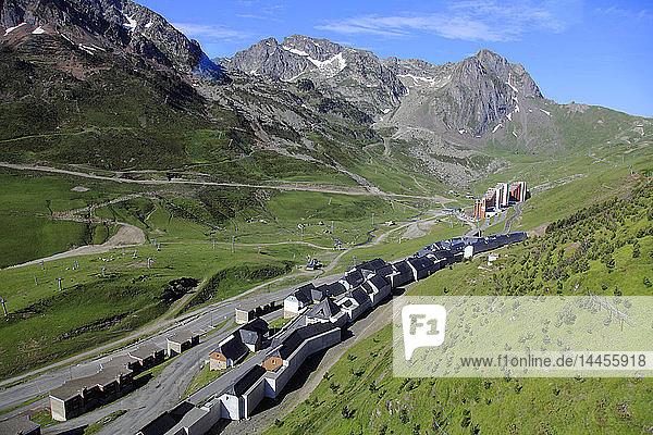 France  Occitanie (Midi Pyrenees )  Hautes Pyrenees (65)  Bagneres de Bigorre  La Mongie station