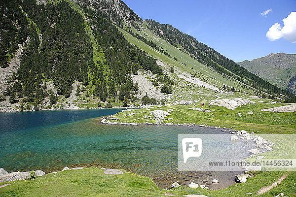 France  Occitanie (Midi Pyrenees )  Hautes Pyrenees (65)  Cauterets  Gaube lake (Pyrenees national park)