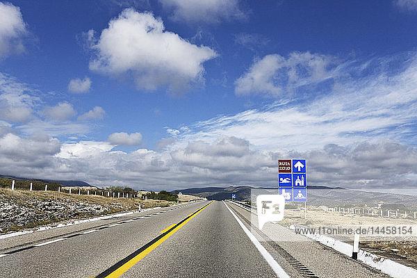 Offene Autobahn