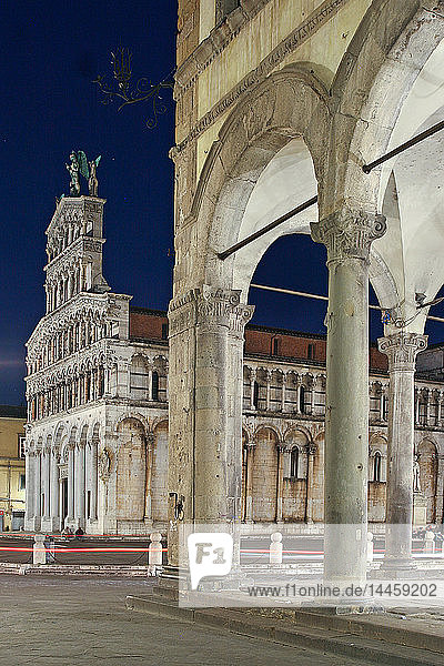 San Michele church  Lucca  Tuscany  Italy