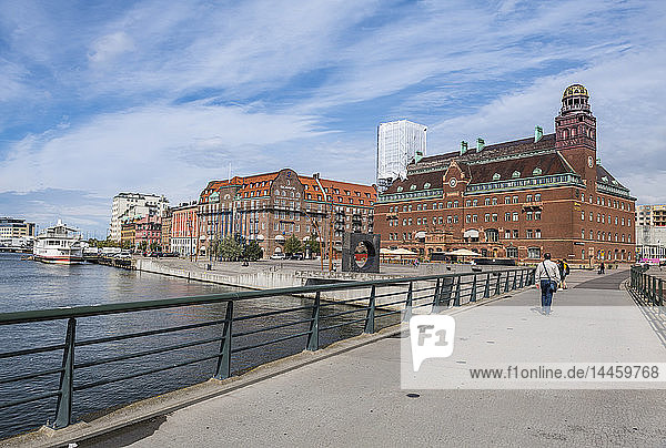 Central post office  Malmo  Sweden  Scandinavia