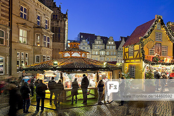 Market Square,  Christmas markets,  Bremen,  Germany