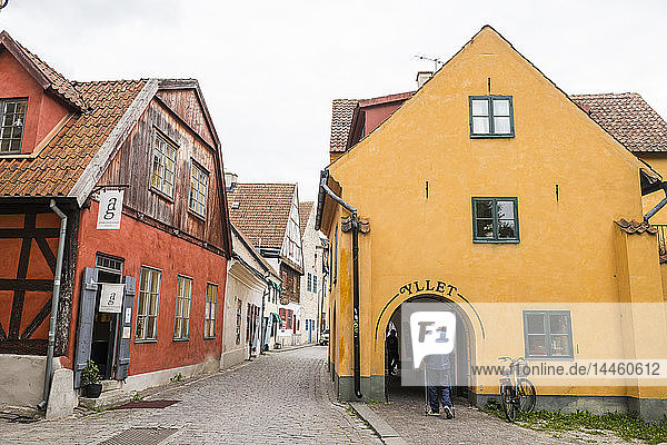 Town of Visby  UNESCO World Heritage Site  Gotland  Sweden  Scandinavia