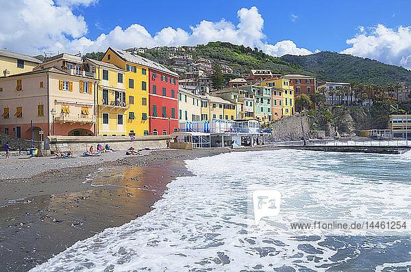 The picturesque village of Bogliasco  Bogliasco  Liguria  Italy