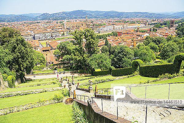 Bardini gardens  Florence  Tuscany  Italy
