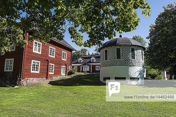 The Engelsberg Ironworks mine  UNESCO World Heritage Site  Sweden  Scandinavia
