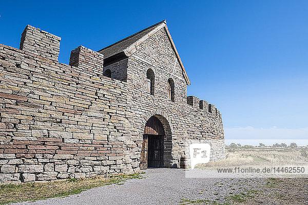 Eketorp Fortress  Oland  Sweden  Scandinavia