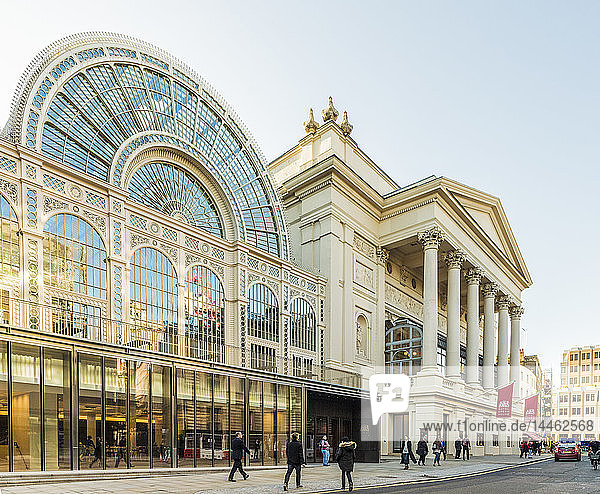 The Royal Opera House in Covent Garden  London  England