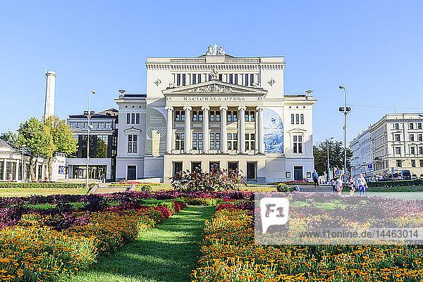 Opera House  Riga  Latvia