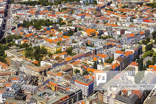 Aerial view of Berlin  Germany