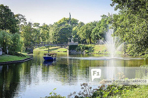 Pilsetas Canal  Batejkalna Parks  Riga  Latvia