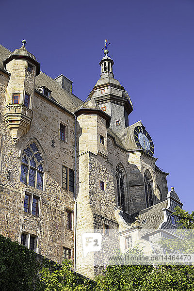 Landgrafenschloss (Marburg Castle),  Marburg,  Hesse,  Germany