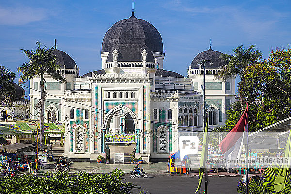 Great Mosque  Medan  Sumatra  Indonesia  Southeast Asia  Asia