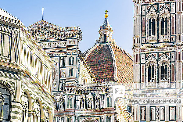 Florence Cathedral (Duomo)  Piazza del Duomo  UNESCO World Heritage Site  Florence  Tuscany  Italy  Europe