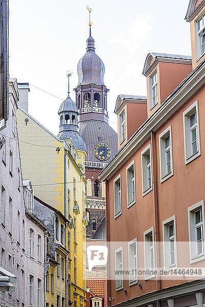 Riga Cathedral  UNESCO World Heritage Site  Riga  Latvia