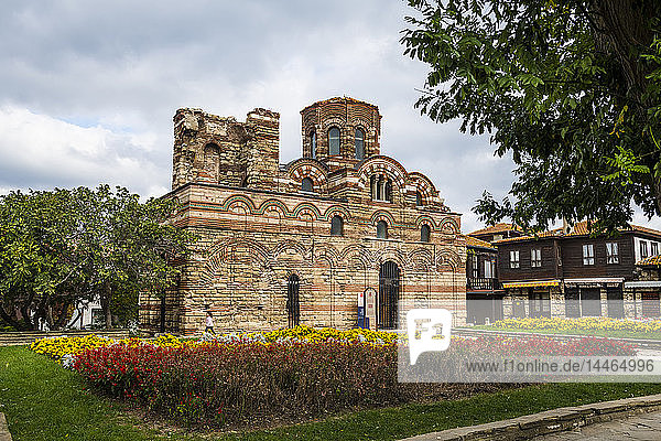 Jesus Christ Pantocrator church  Nessebar  UNESCO World Heritage Site  Bulgaria  Europe