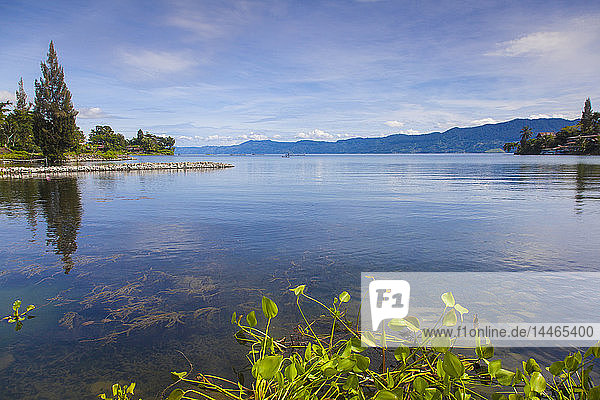 Tuk Tuk  Lake Toba  Samosir Island  Sumatra  Indonesia  Southeast Asia  Asia