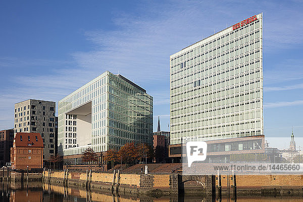 Germany  Hamburg  HafenCity  Ericusspitze  Spiegel publishing house