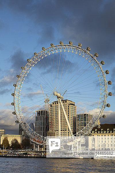 UK  London  River Thames  London Eye