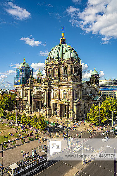 Germany  Berlin  Museumsinsel with Berlin Cathedral