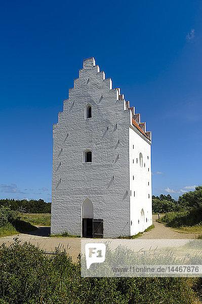 Dänemark  Jütland  Skagen  versandete St.-Laurentius-Kirche