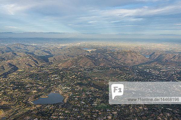 USA  Kalifornien  Del Mar  Luftaufnahme der Stadt