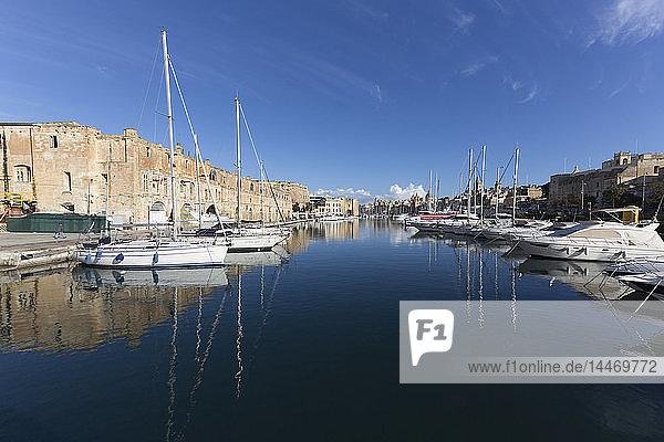 Malta  Valletta  Hafen