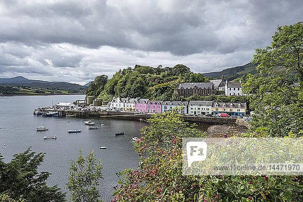 United Kingdom  Scotland  Isle of Skye  Portree  Harbour