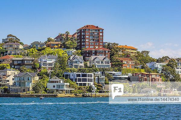 Australien  New South Wales  Sydney  Häuser in Watson Bay