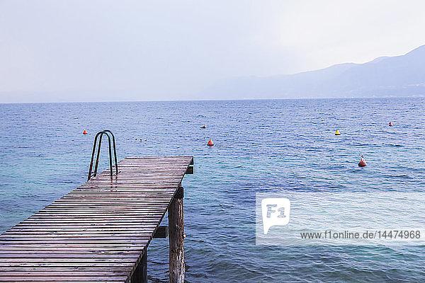 Italy  Veneto  Lake Garda near Brenzone