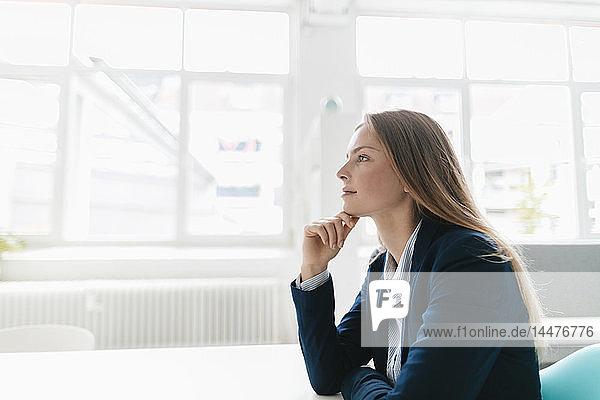 Junge Geschäftsfrau im Amt  Porträt