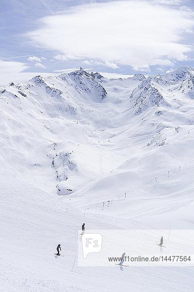Frankreich  Französische Alpen  Les Menuires  Trois Vallees  Skigebiet