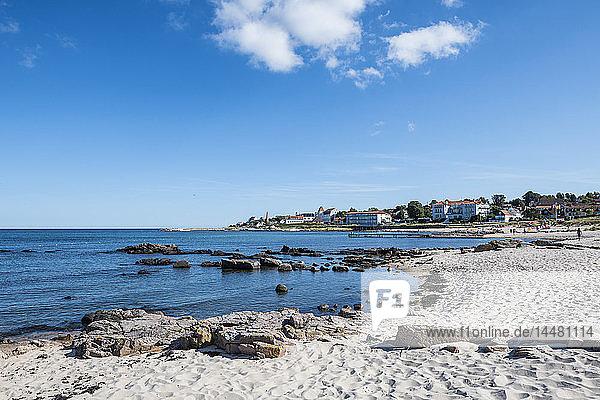 Dänemark  Bornholm  Strand von Sandvig