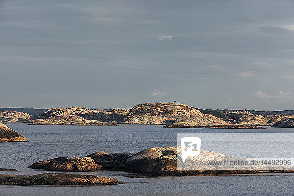 Coast cliffs  Fjallbacka  Bohuslan  Sweden