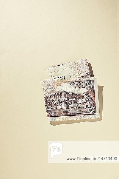 Banknotes  studio shot