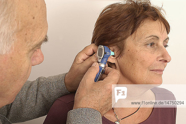 EAR NOSE &THROAT  ELDERLY PERSON