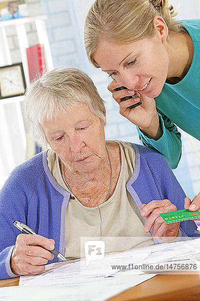 SOCIAL AID FOR ELDERLY PERSON